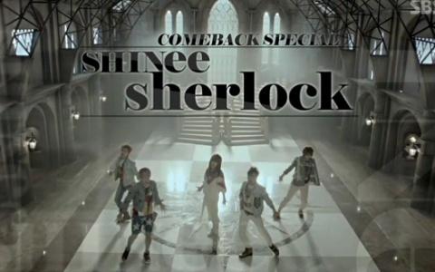 "SHINee Performs ""Sherlock"" & ""Stranger"" for Inkigayo Comeback"
