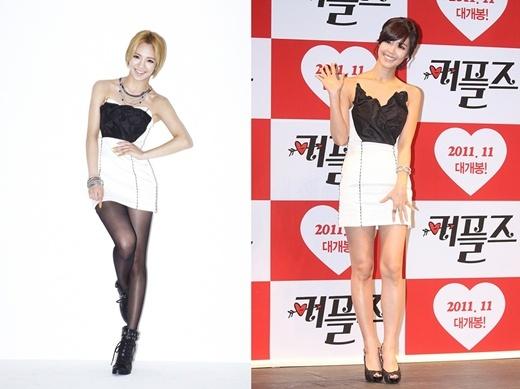 Who Wore It Better: Hyoyeon vs. Lee Yoon Ji