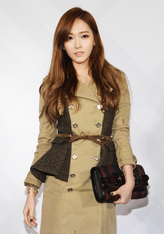 Girl's Generation's Jessica was Invited to a Burberry Opening Event