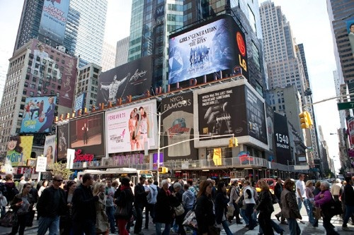 SNSD Billboards All Over the World