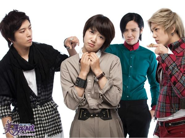 Park Shin Hye Tweets A.N.Jell Second Anniversary Reunion