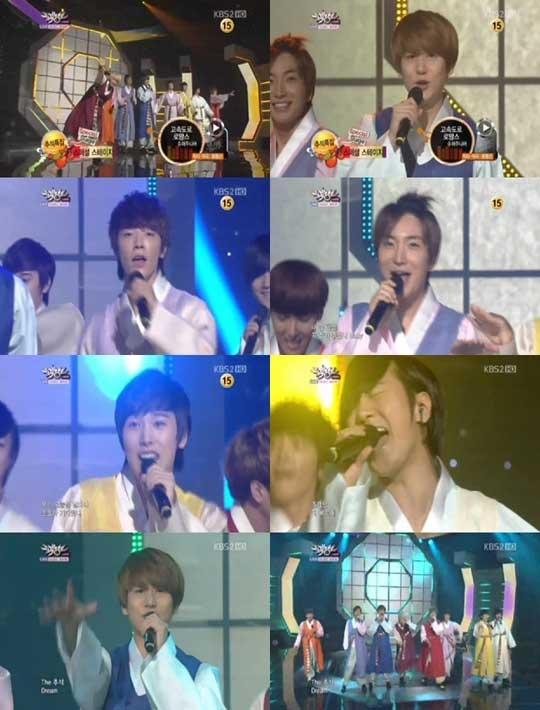 KBS Music Bank 09.09.2011