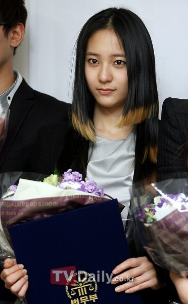 Goodwill Ambassadors for Together Day (f(x) & Kangta)