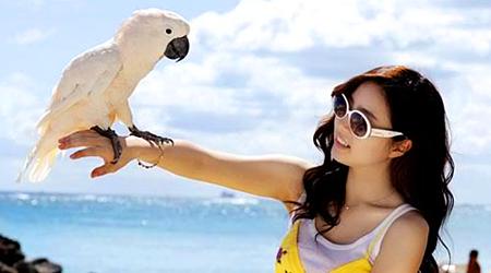 Shin Se Kyung In Hawaii To Shoot A Program