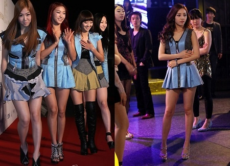 Who Wore it Better: Ultra Short Mini Dress Edition