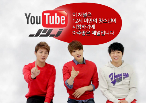 Grand Opening of JYJ's Official Youtube Channel