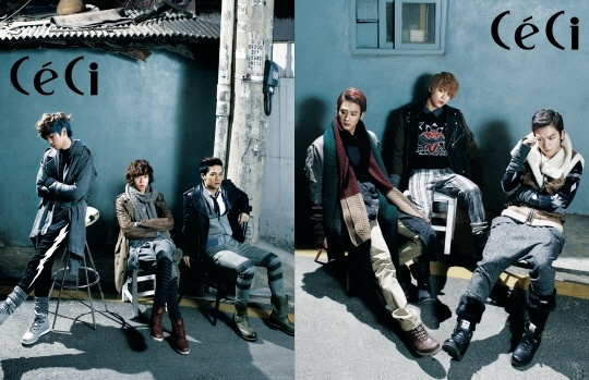 Teen Top Transforms into Chic Men for CeCi Magazine Photo Shoot
