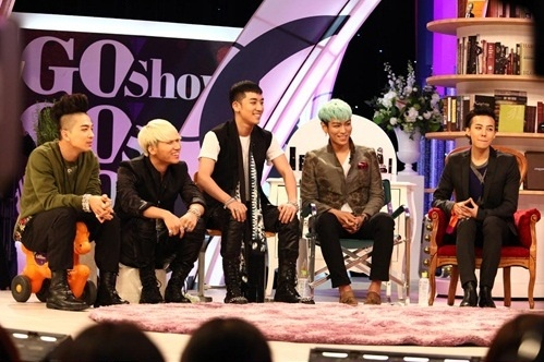 """Big Bang to Reveal Their Special Powers on SBS """"Go Show"""""""