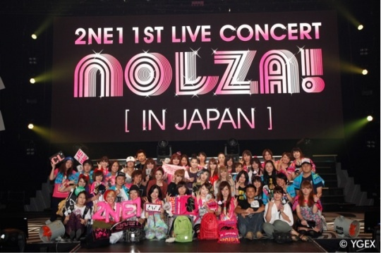 2NE1's First Concerts in Japan a Success
