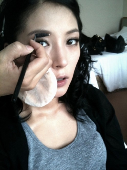 BoA Spends Her Chuseok in the Recording Studio