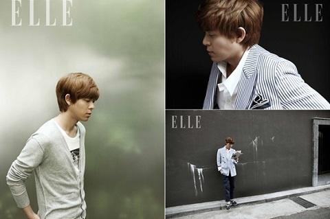 Tony Ahn Reveals His Daily Life in ELLE Photo Spread
