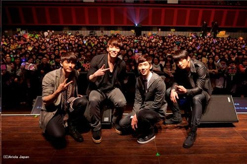 "2AM Holds Event for Release of Second Japanese Single ""You Wouldn't Answer My Calls"""