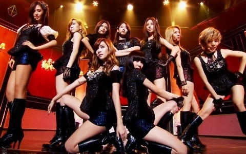 SNSD Spotted at a Club in New York