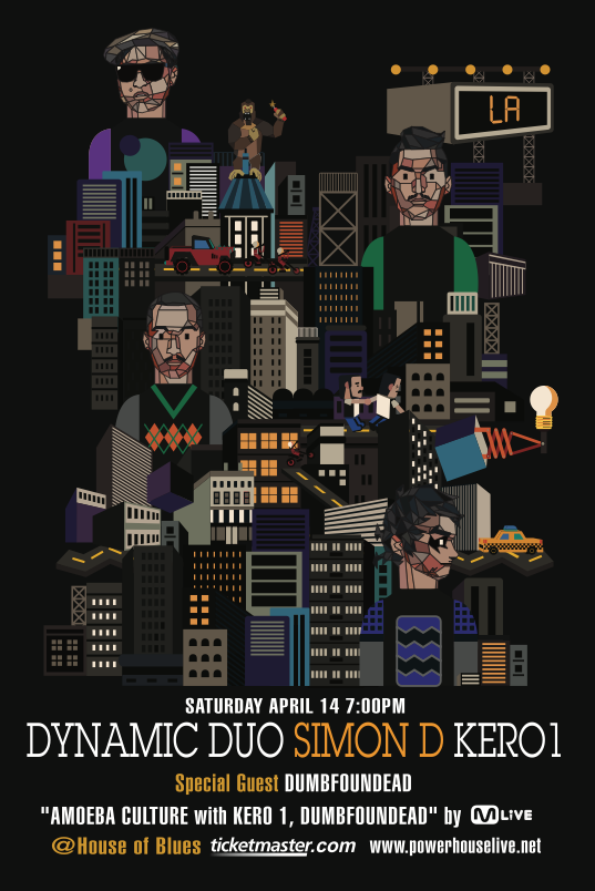 Win Tickets to See Dynamic Duo, Simon D, Kero One, and Dumbfoundead in LA!