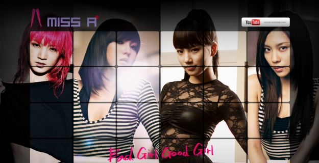 miss A's Official Homepage and YouTube Dance Battle Clip Revealed