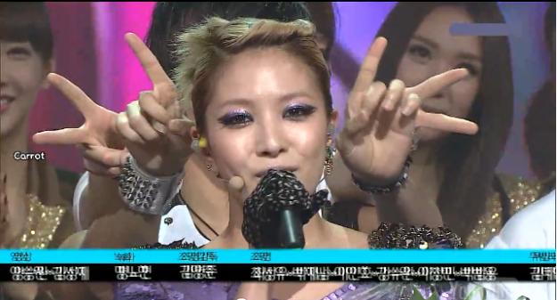 SBS Inkigayo 08.29.10 Performances