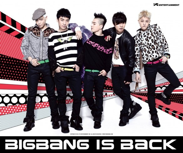 Big Bang Wants You to Vote for Them