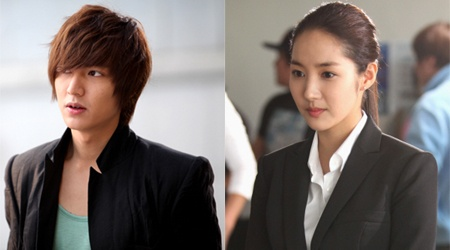 "New Photos of Lee Min Ho and Park Min Young for ""City Hunter"""