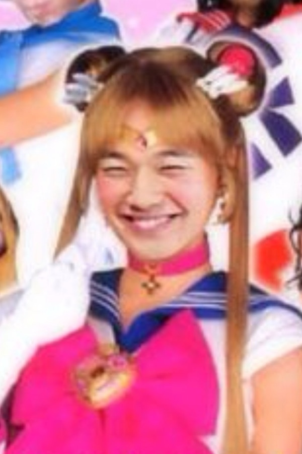 Rain Transforms into Sailor Moon