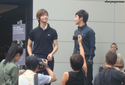 Pictures of DBSK in New York