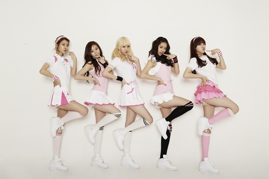 Girl's Day as Models for Headache Pills