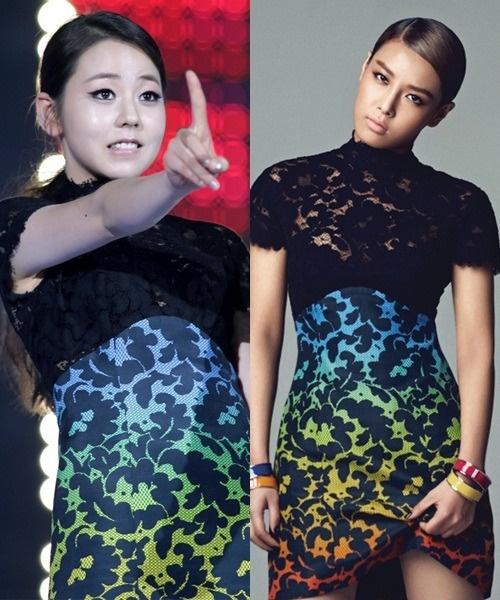 Who Wore It Better: Sohee vs Yubin