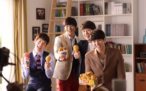 2AM's Third Year Re-Signing with BHC Chicken