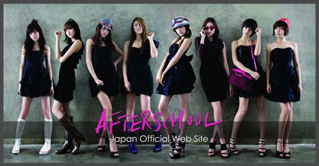 After School Signs with Avex – New Japanese Website