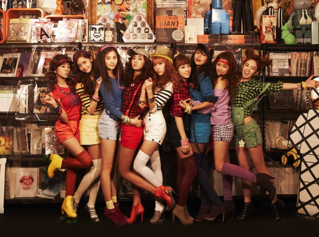 "Girls' Generation ""Oh!"" Takes Over Real-Time Charts"