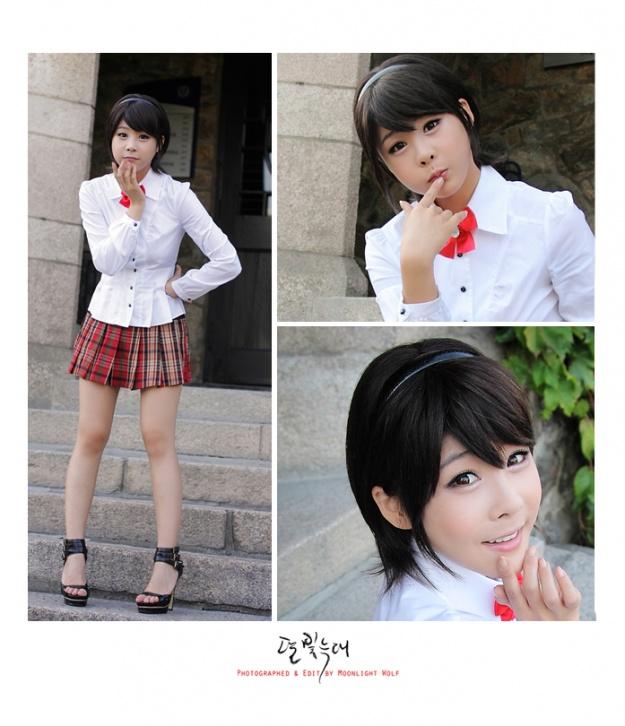 Multiple Photoshoots (Kim Ji Hyun)