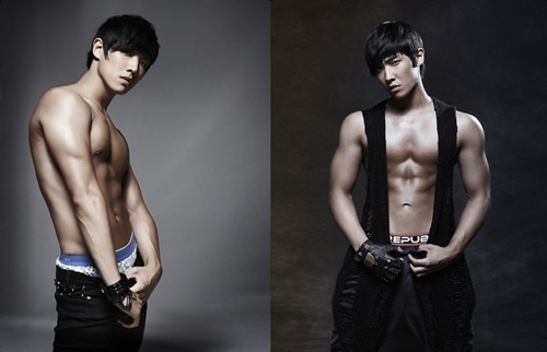 MBLAQ's Lee Joon as an Underwear Model