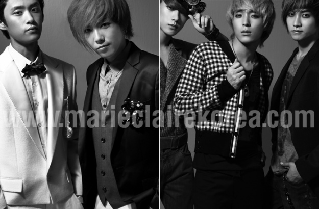 Marie Claire (Sept '09) (F.T Island)