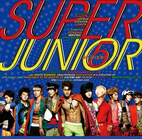 Super Junior Releases Their Official 5th Album Online