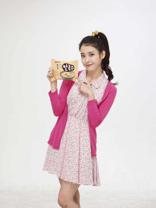 IU Picked as Instant Noodles CF Model