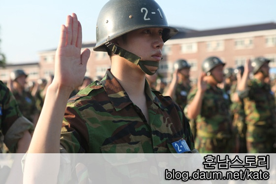 Heechul's Military Training Photos Released for First Time