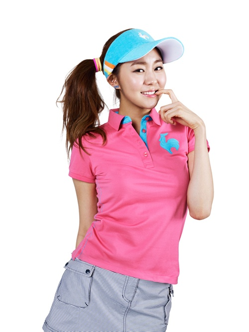 After School's Uee for Lecog Golf