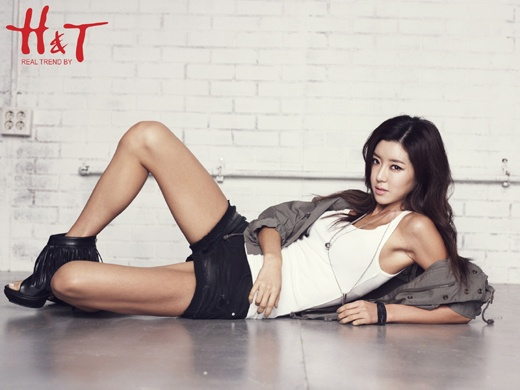 Park Han Byul Looking Sexy for H&T