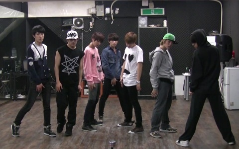 """Infinite Releases Dance Practice Video for """"Paradise"""""""
