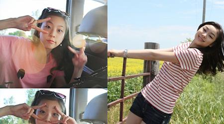 Kim Yuna And Kwak Min Jung Vacationing!