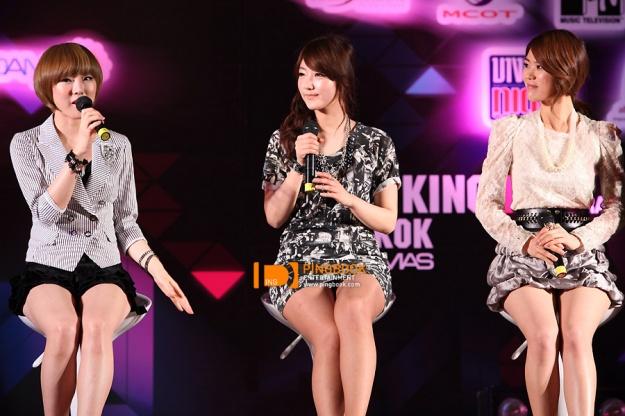 Press Conference : Show King M in Bangkok 04.05.10