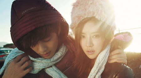 Se7en and Park Han Byul for Singles Magazine