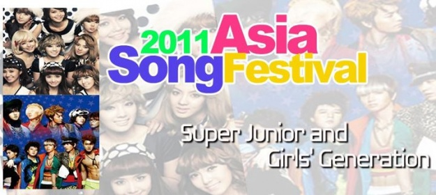 Asian Artists Brave the Rain for the 2011 Asia Song Festival