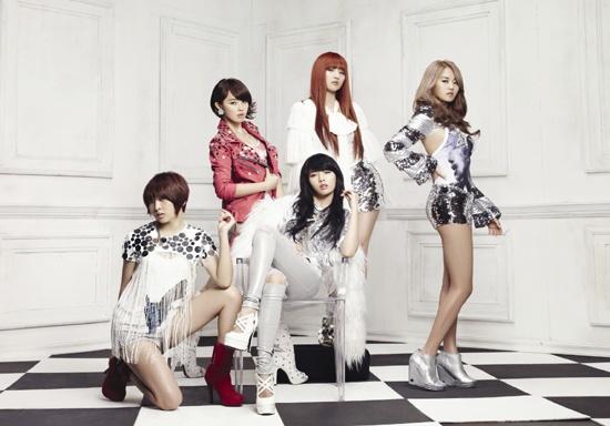 Weekly K-Pop Music Chart 2011 – April Week 5
