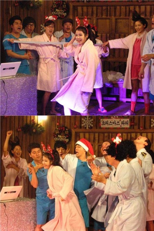 """IU Performs Sexy Dance for """"Uncle Fans"""" on """"Happy Together 3"""""""