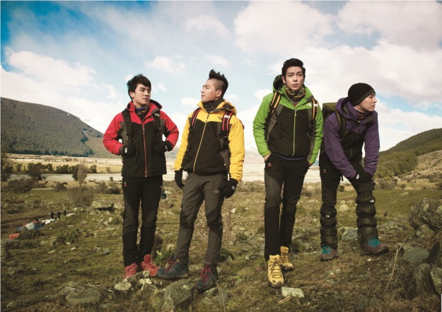 "Big Bang as the New Model for ""The North Face"""