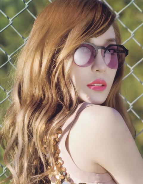 Girls' Generation Tiffany Transforms into a Porcelain Doll