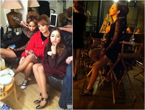 Wonder Girls Tweet Photoshoot Pictures
