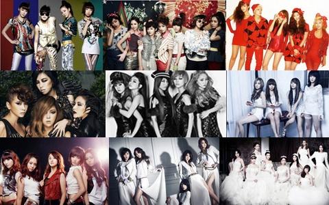 Top Girl Group Rankings Based on Fan Club Membership