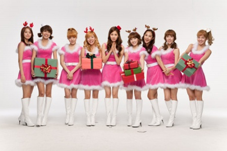 SNSD Endorses Samsung in China For the Holidays
