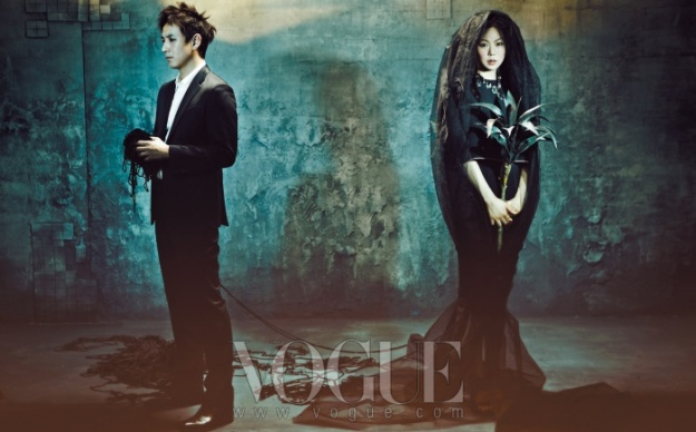 Lee Sun Gyun and Kim Min Hee Become a Mysterious Couple for Vogue